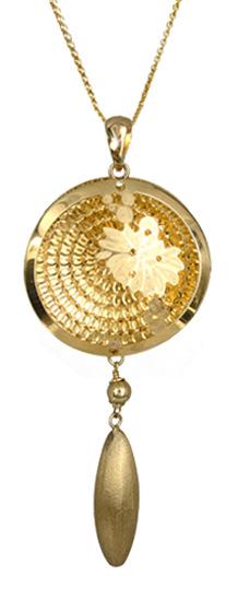 Χρυσό κολιέ γυναικείο 14Κ 017245 Χρυσός 14 Καράτια