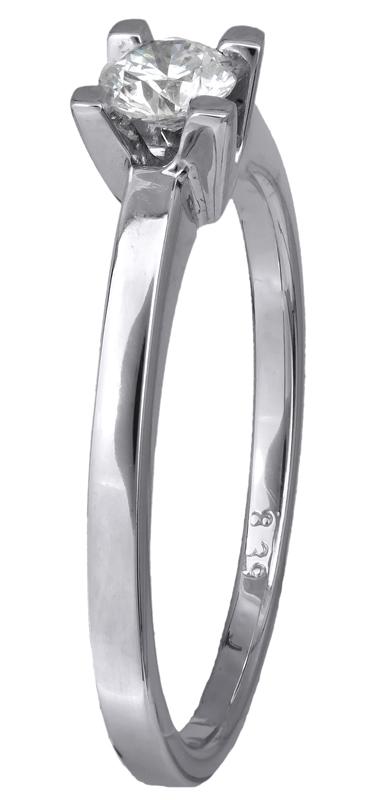 Μονόπετρο δαχτυλίδι με διαμάντι 017269 017269 Χρυσός 18 Καράτια