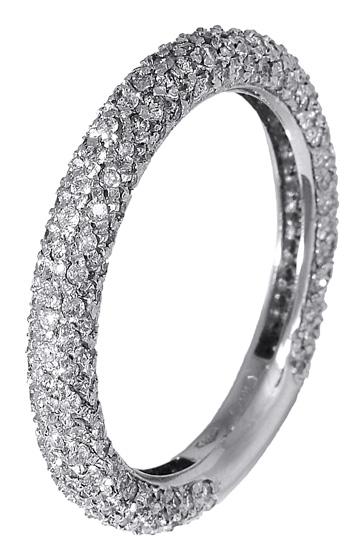 Δαχτυλίδι σειρέ με brilliant 017305 Χρυσός 18 Καράτια