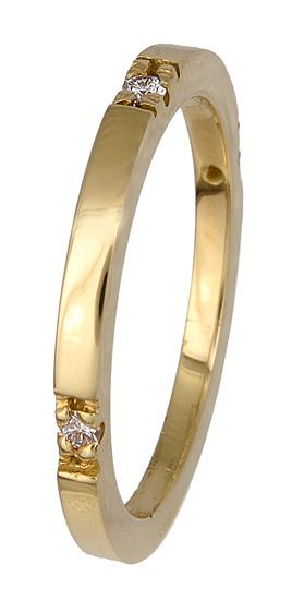 Δαχτυλίδι βέρα χρυσή 017360 Χρυσός 18 Καράτια