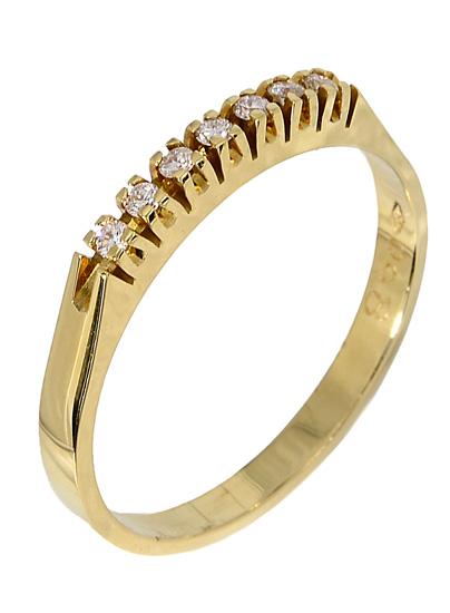 Χρυσό δαχτυλίδι Κ18 017367 Χρυσός 18 Καράτια