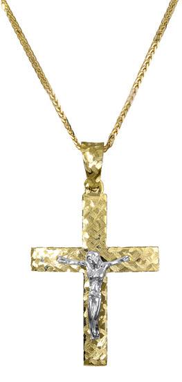 Βαπτιστικοί Σταυροί με Αλυσίδα Βαπτιστικός σταυρός για αγόρι c017384 017384C Ανδ σταυροί βάπτισης   γάμου βαπτιστικοί σταυροί με αλυσίδα