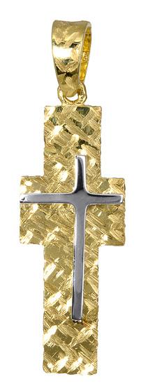 Σταυροί Βάπτισης - Αρραβώνα Ανδρικός χρυσός σταυρός 017394 017394 Ανδρικό Χρυσός 14 Καράτια