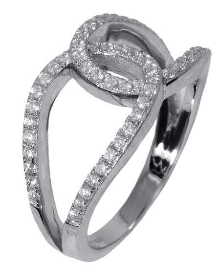 Γυναικείο ασημένιο δαχτυλίδι 017637 017637 Ασήμι