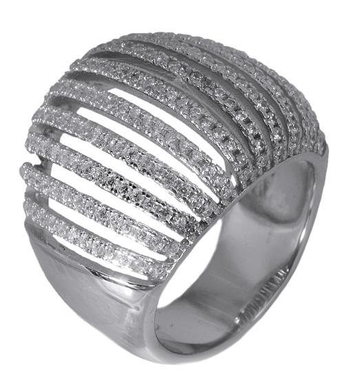 Γυναικείο ασημένιο δαχτυλίδι 017644 017644 Ασήμι