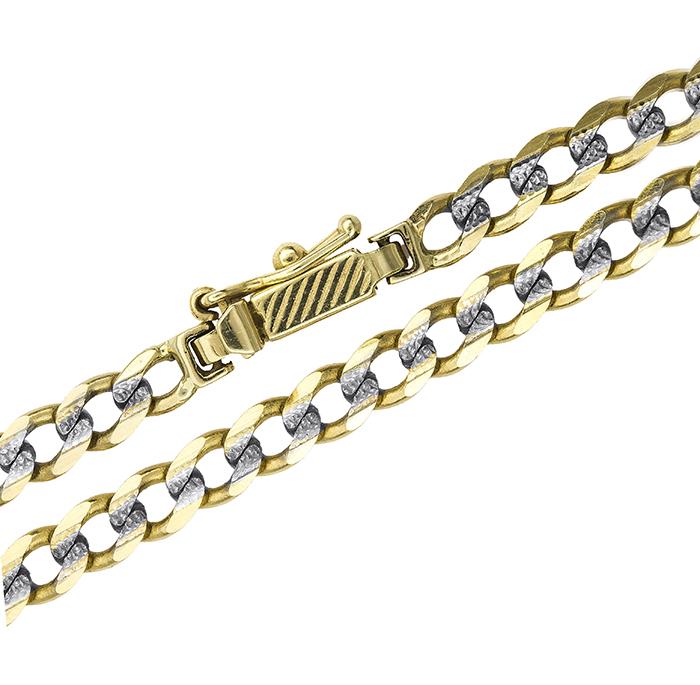 Αντρική καδένα λαιμού Κ14 024686 024686 Χρυσός 14 Καράτια χρυσά κοσμήματα αλυσίδες   καδένες