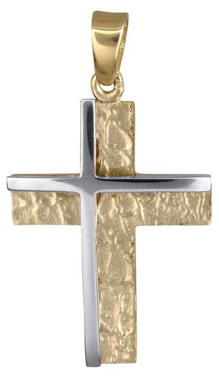 Σταυροί Βάπτισης - Αρραβώνα Βαπτιστικός σταυρός για αγόρι 14Κ 017851 017851 Ανδρικό Χρυσός 14 Καράτια