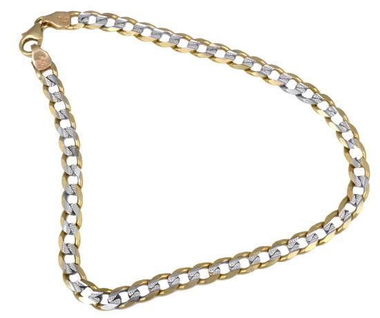 Ανδρική αλυσίδα για το χέρι 017869 017869 Χρυσός 14 Καράτια