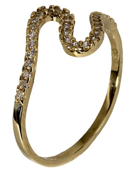 Χρυσό δαχτυλίδι 017907 017907 Χρυσός 14 Καράτια