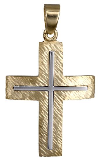 Σταυροί Βάπτισης - Αρραβώνα Ανδρικός σταυρός 14Κ 018018 018018 Ανδρικό Χρυσός 14 Καράτια