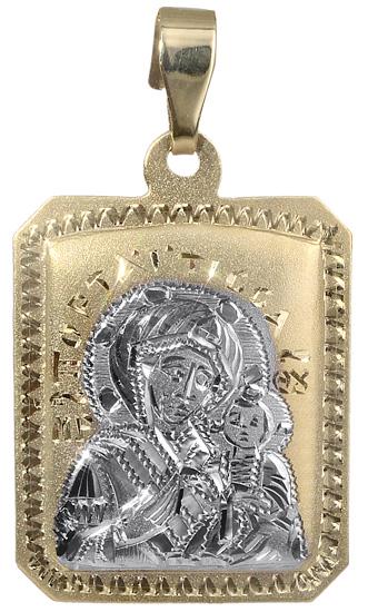Δίχρωμο κωνσταντινάτο 14Κ 018074 018074 Χρυσός 14 Καράτια