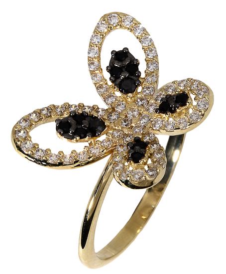 Δαχτυλίδι πεταλούδα 018109 018109 Χρυσός 14 Καράτια