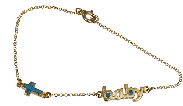 Παιδικό βραχιόλι Baby 018128 018128 Χρυσός 14 Καράτια