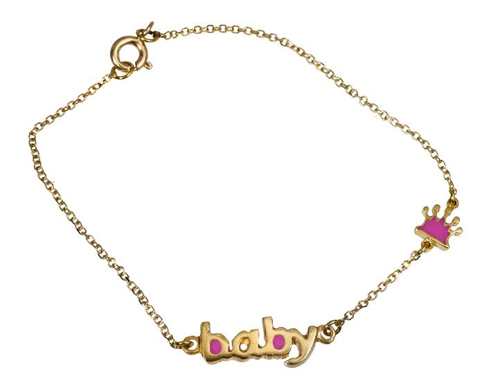 Παιδικό βραχιόλι Baby 018129 018129 Χρυσός 14 Καράτια