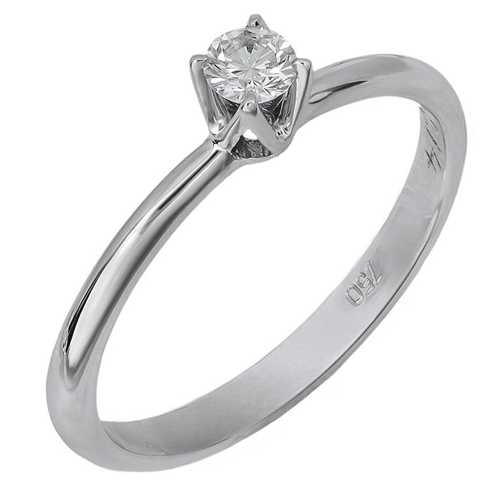 Δαχτυλίδι γάμου με διαμάντι 018173 018173 Χρυσός 18 Καράτια