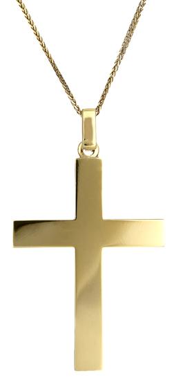 Βαπτιστικοί Σταυροί με Αλυσίδα Ανδρικός σταυρός 18Κ c018174 018174C Ανδρικό Χρυσός 18 Καράτια