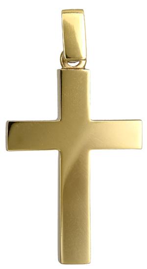Σταυροί Βάπτισης - Αρραβώνα Ανδρικός χρυσός σταυρός 018176 018176 Ανδρικό Χρυσός 18 Καράτια