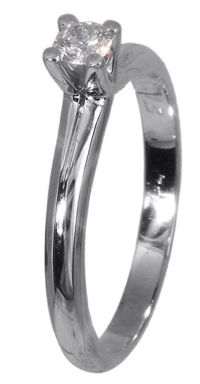 Μονόπετρο δαχτυλίδι 018349 018349 Χρυσός 18 Καράτια