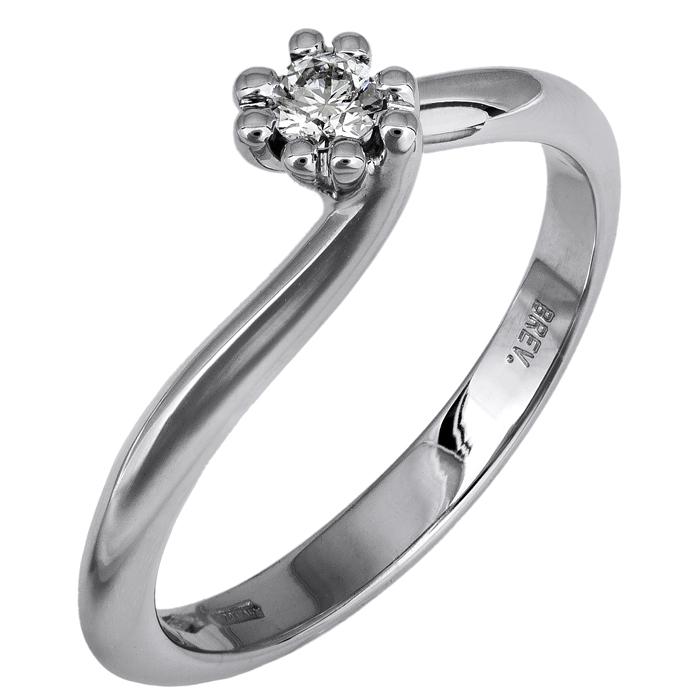 Μονόπετρο δαχτυλίδι με διαμάντι 018363 018363 Χρυσός 18 Καράτια
