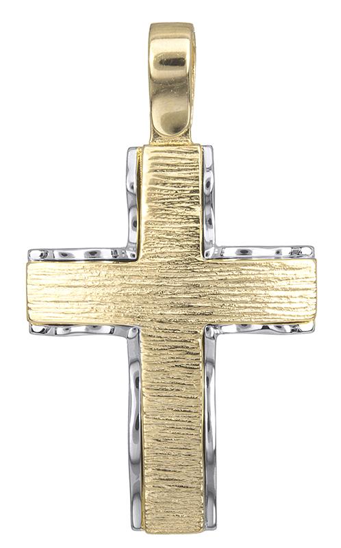 Σταυροί Βάπτισης - Αρραβώνα Ανδρικός σταυρός 14Κ 018286 018286 Ανδρικό Χρυσός 14 Καράτια