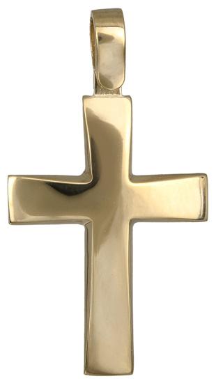 Σταυροί Βάπτισης - Αρραβώνα Ανδρικός σταυρός 14Κ 018295 018295 Ανδρικό Χρυσός 14 Καράτια