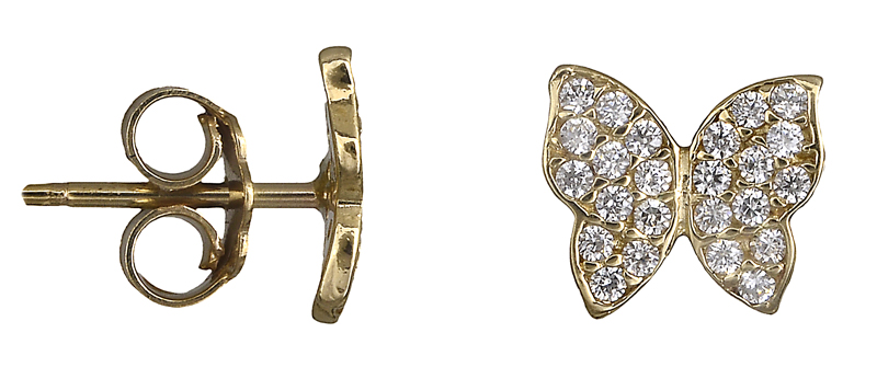 Γυναικεία σκουλαρίκια 018543 018543 Χρυσός 14 Καράτια