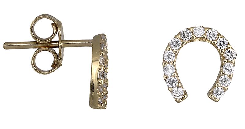 Γυναικεία σκουλαρίκια 018544 018544 Χρυσός 14 Καράτια