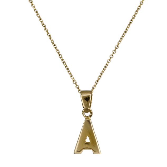 Χρυσό μονόγραμμα Α 018554 018554 Χρυσός 14 Καράτια