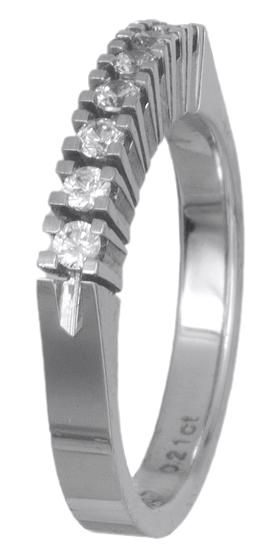 Δαχτυλίδι σειρέ με brilliant 018604 018604 Χρυσός 18 Καράτια