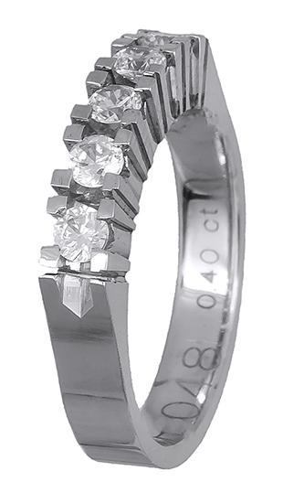 Δαχτυλίδι σειρέ με brilliant 018608 018608 Χρυσός 18 Καράτια