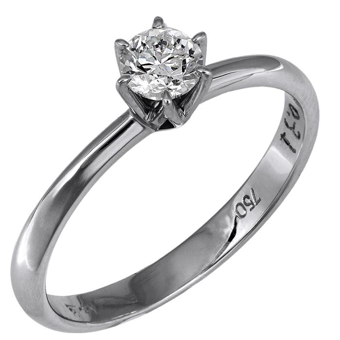 Δαχτυλίδι λευκόχρυσου 18Κ 018750 018750 Χρυσός 18 Καράτια