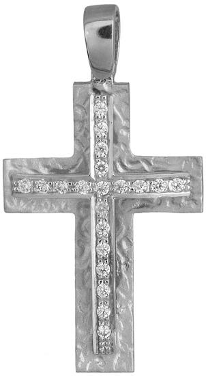 Σταυροί Βάπτισης - Αρραβώνα Γυναικείος σταυρός 018782 018782 Γυναικείο Χρυσός 14 Καράτια