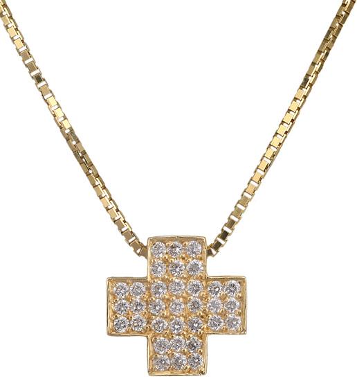 Χρυσός σταυρός Κ18 018895 018895 Χρυσός 18 Καράτια