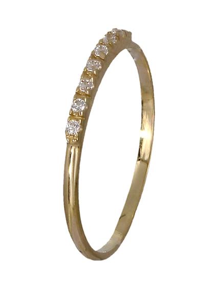 Δαχτυλίδι χρυσό 14Κ 018951 018951 Χρυσός 14 Καράτια