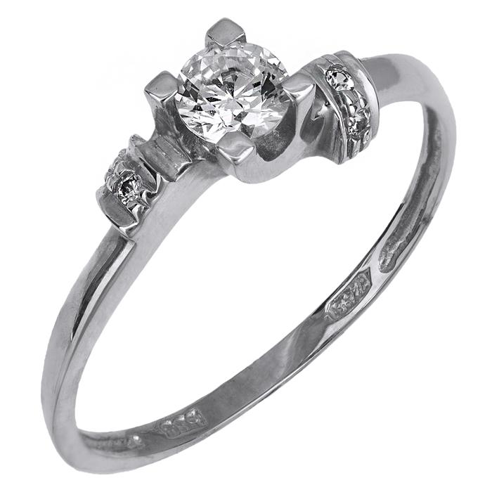Μονόπετρο δαχτυλίδι Κ14 018973 018973 Χρυσός 14 Καράτια