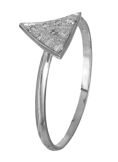 Δαχτυλίδι λευκόχρυσο Κ14 018975 018975 Χρυσός 14 Καράτια χρυσά κοσμήματα δαχτυλίδια με μαργαριτάρια και διάφορες πέτρες
