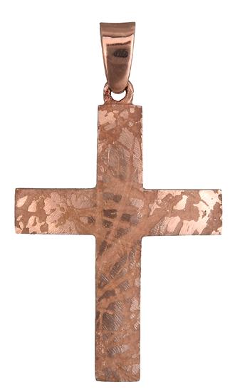 Σταυροί Βάπτισης - Αρραβώνα Σταυρός Κ14 019080 019080 Ανδρικό Χρυσός 14 Καράτια