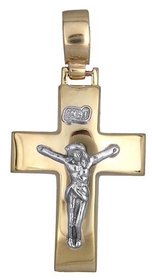 Σταυροί Βάπτισης - Αρραβώνα Σταυρός Κ9 019085 019085 Ανδρικό Χρυσός 9 Καράτια