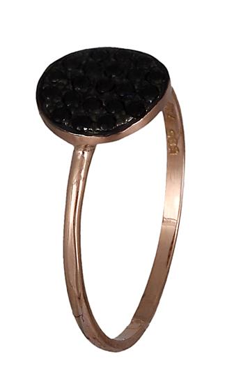 Δαχτυλίδι ροζ χρυσό Κ14 019114 019114 Χρυσός 14 Καράτια