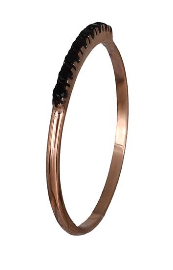 Δαχτυλίδι ροζ χρυσό 14Κ 019115 019115 Χρυσός 14 Καράτια χρυσά κοσμήματα δαχτυλίδια σειρέ ολόβερα