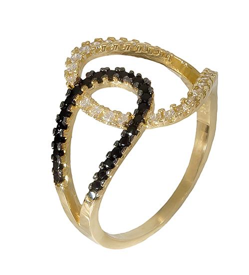 Δαχτυλίδι 14K 019207 019207 Χρυσός 14 Καράτια χρυσά κοσμήματα δαχτυλίδια με μαργαριτάρια και διάφορες πέτρες