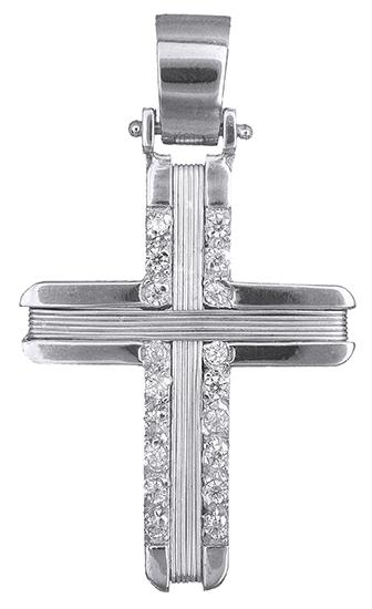 Σταυροί Βάπτισης - Αρραβώνα Συρματερός γυναικείος σταυρός Κ14 019303 019303 Γυναικείο Χρυσός 14 Καράτια