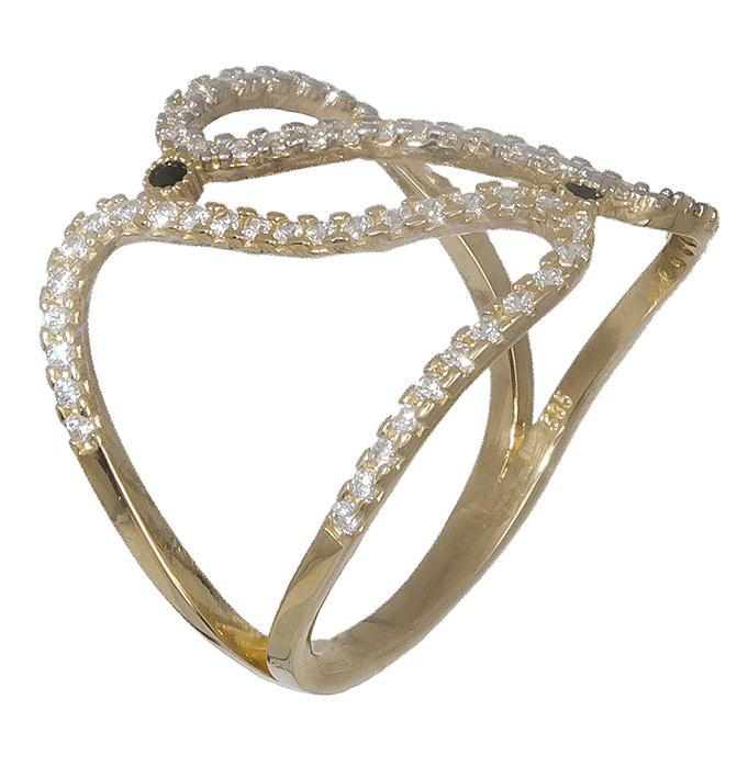 Δαχτυλίδι χρυσό 14K 019333 019333 Χρυσός 14 Καράτια χρυσά κοσμήματα δαχτυλίδια με μαργαριτάρια και διάφορες πέτρες