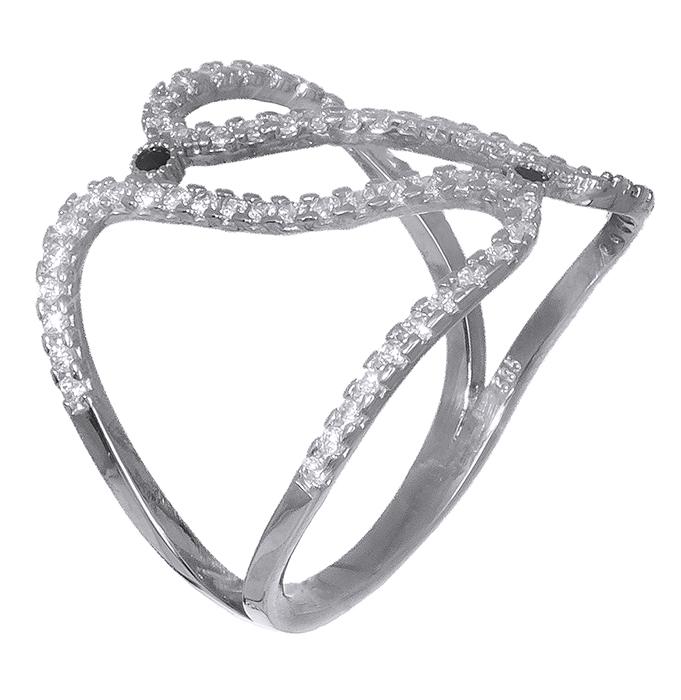 Λευκόχρυσο δαχτυλίδι 14K 019336 019336 Χρυσός 14 Καράτια