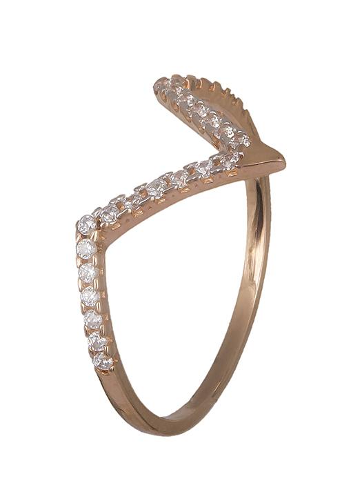 Δαχτυλίδι σε ροζ χρυσό 14K 019344 019344 Χρυσός 14 Καράτια χρυσά κοσμήματα δαχτυλίδια με μαργαριτάρια και διάφορες πέτρες