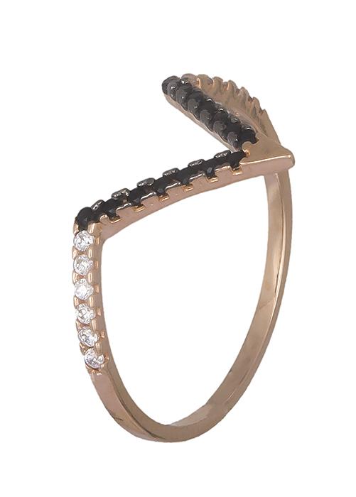 Δαχτυλίδι πετράτο σε ροζ χρυσό 14K 019345 019345 Χρυσός 14 Καράτια