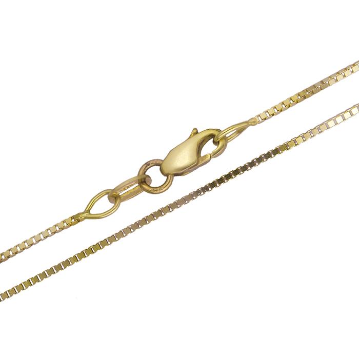 Χρυσή αλυσίδα K18 019550 019550 Χρυσός 18 Καράτια