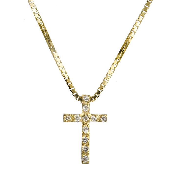 Χρυσός σταυρός Κ18 με brilliant 019561 019561 Χρυσός 18 Καράτια f949b200b6e