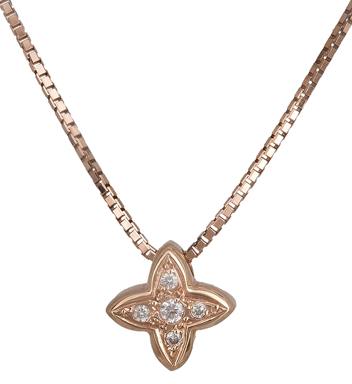 Ροζ gold σταυρός Κ18 019570 019570 Χρυσός 18 Καράτια χρυσά κοσμήματα σταυροί