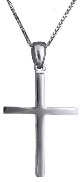 Βαπτιστικοί Σταυροί με Αλυσίδα Ανδρικός σταυρός 14Κ C019683 019683C Ανδρικό Χρυσός 14 Καράτια